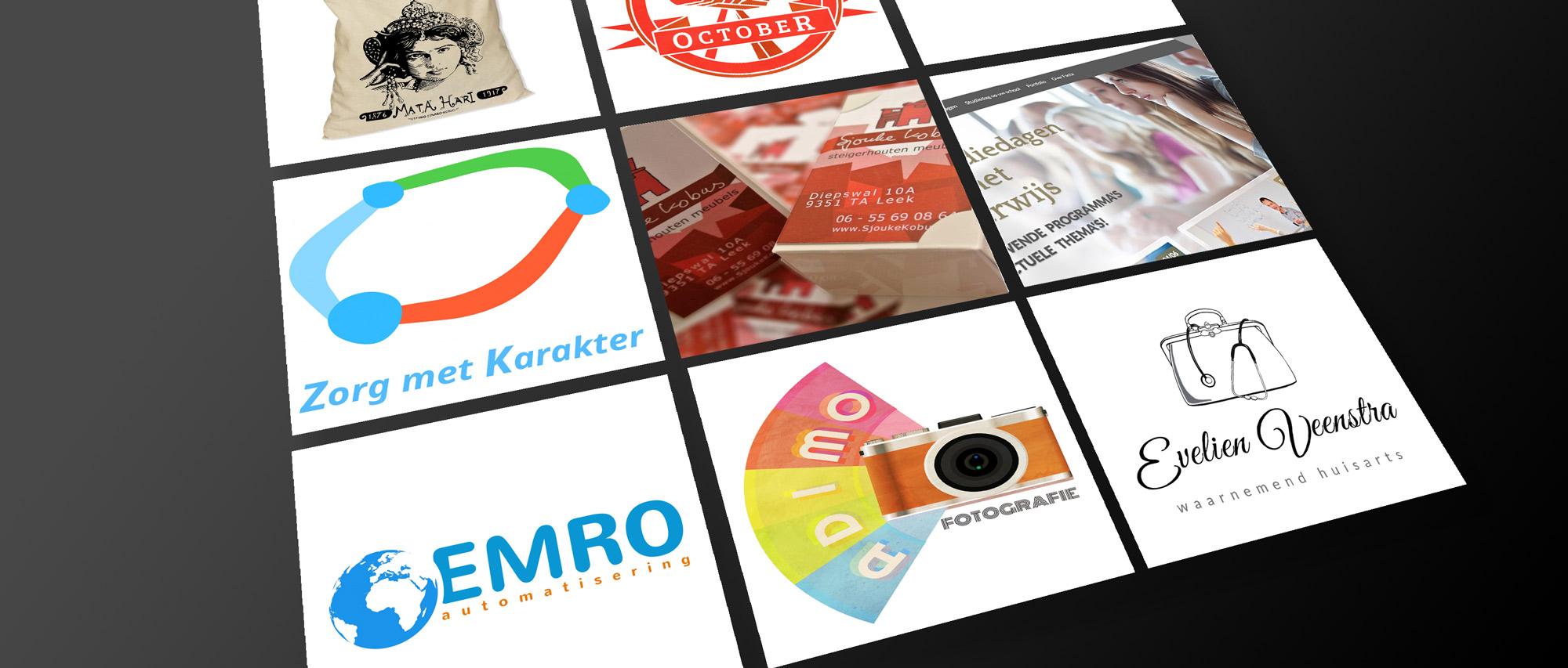Ontwerp, Logo's en meer; Studio Edward Kobus